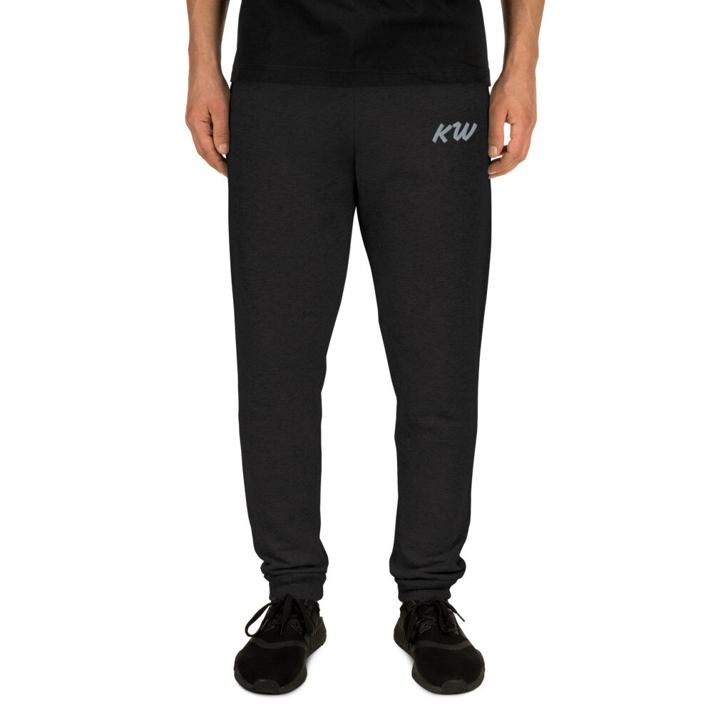 Men's KW Embroidered Comfy Joggers