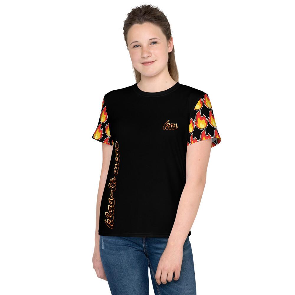 Youth Black KW Unisex T-Shirt