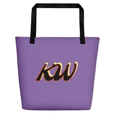 Ladies All Around Purple KW Bag