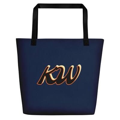 Ladies All Around Navy Blue KW Bag