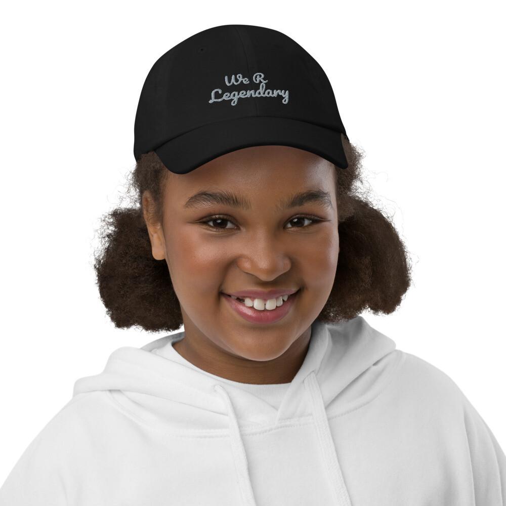 Youth We R Legendary baseball cap
