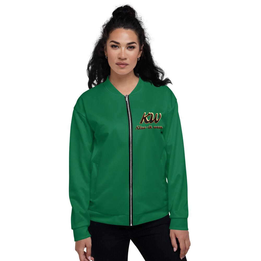 Kelly Green Bomber Jacket