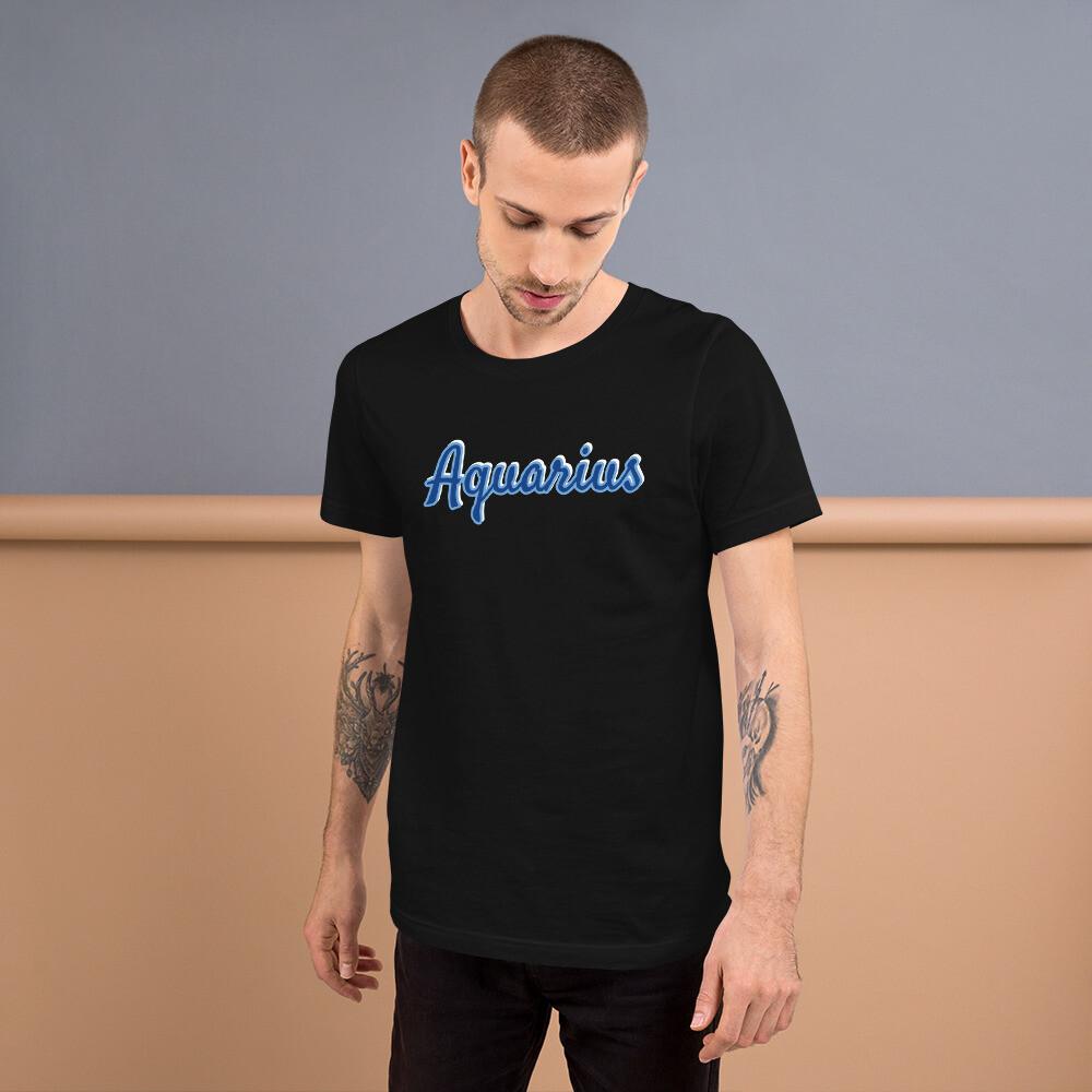 Short-Sleeve Zodiac Unisex T-Shirt