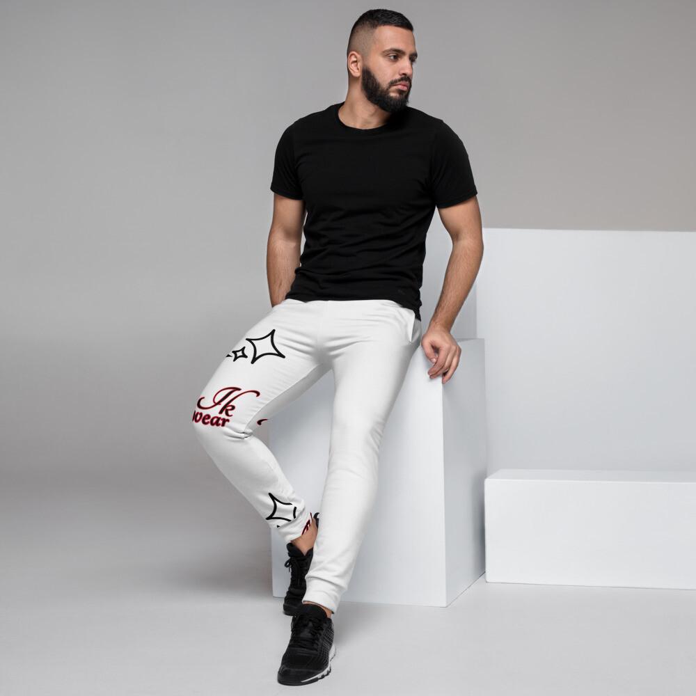 White Klas-ik Wear Collectable Men's Joggers