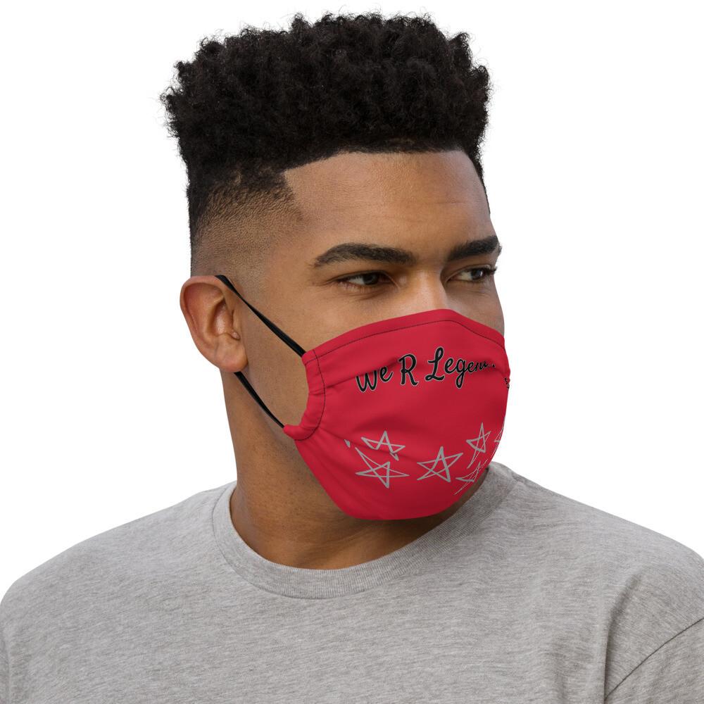 Red Legendary face mask