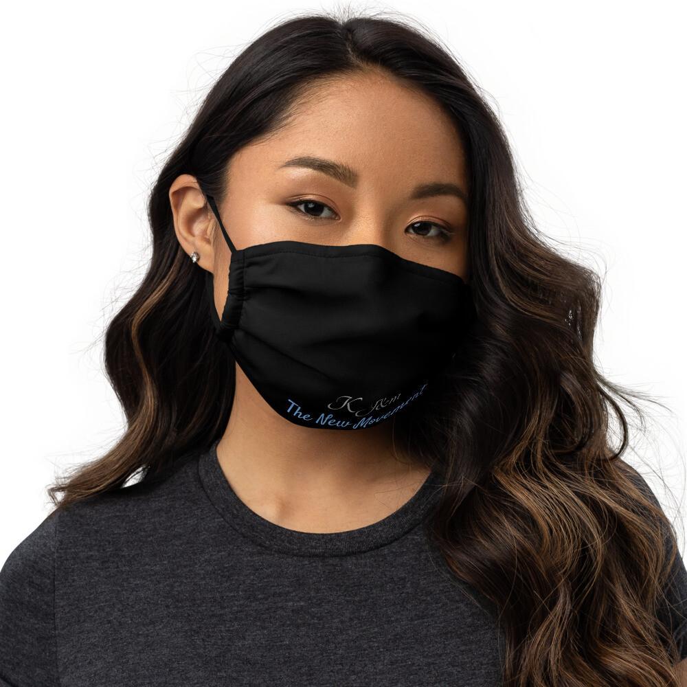 Black Kj&m Face Mask