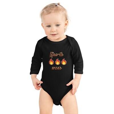 Infant Long Sleeve Klas-ik Wear Bodysuit