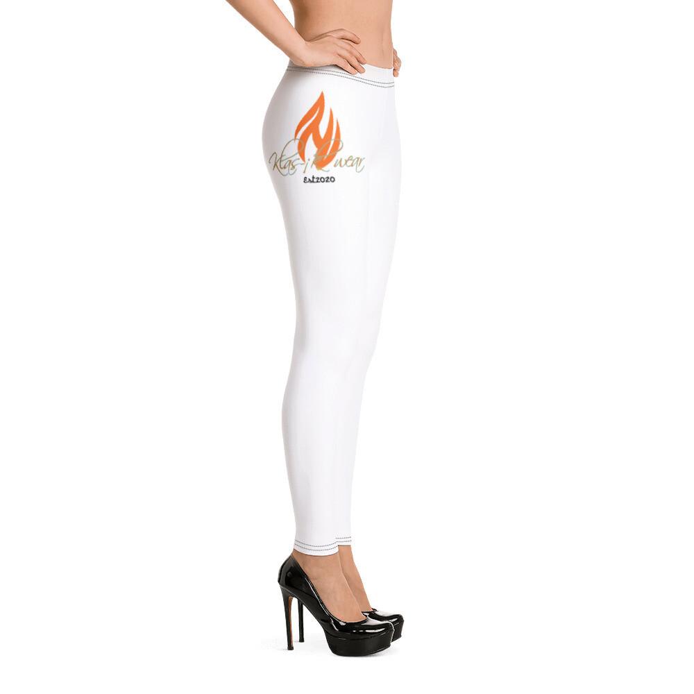 White Klas -ik New Flame Leggings