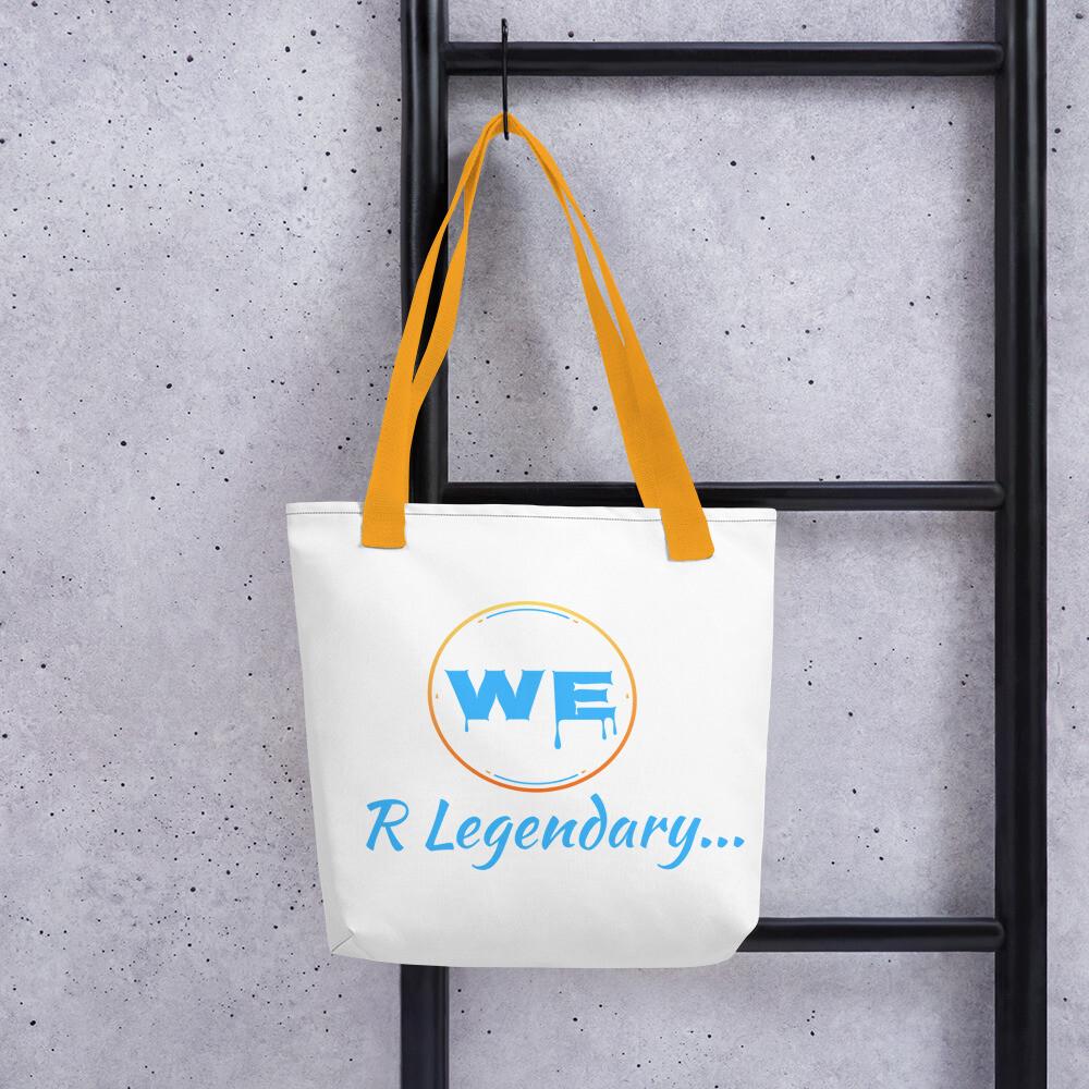 White We R Legendary Tote bag