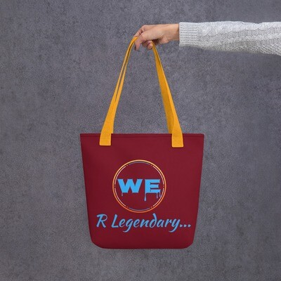 Maroon Legendary All Around Tote bag