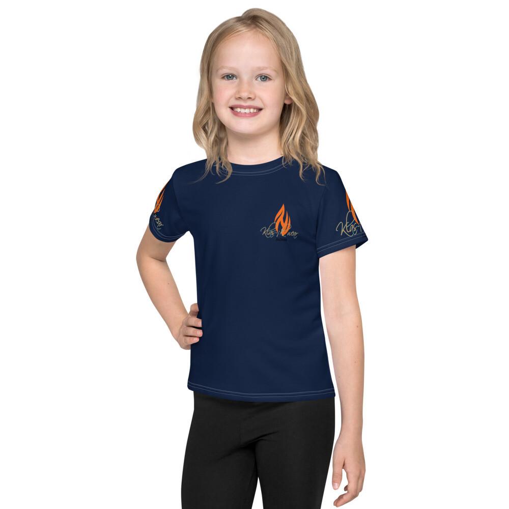 Youth Navy Blue Klas-ik Wear T-Shirt