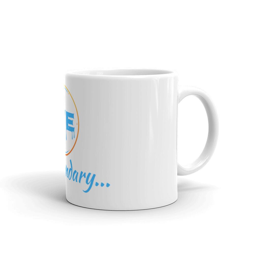 White We R Legendary Mug
