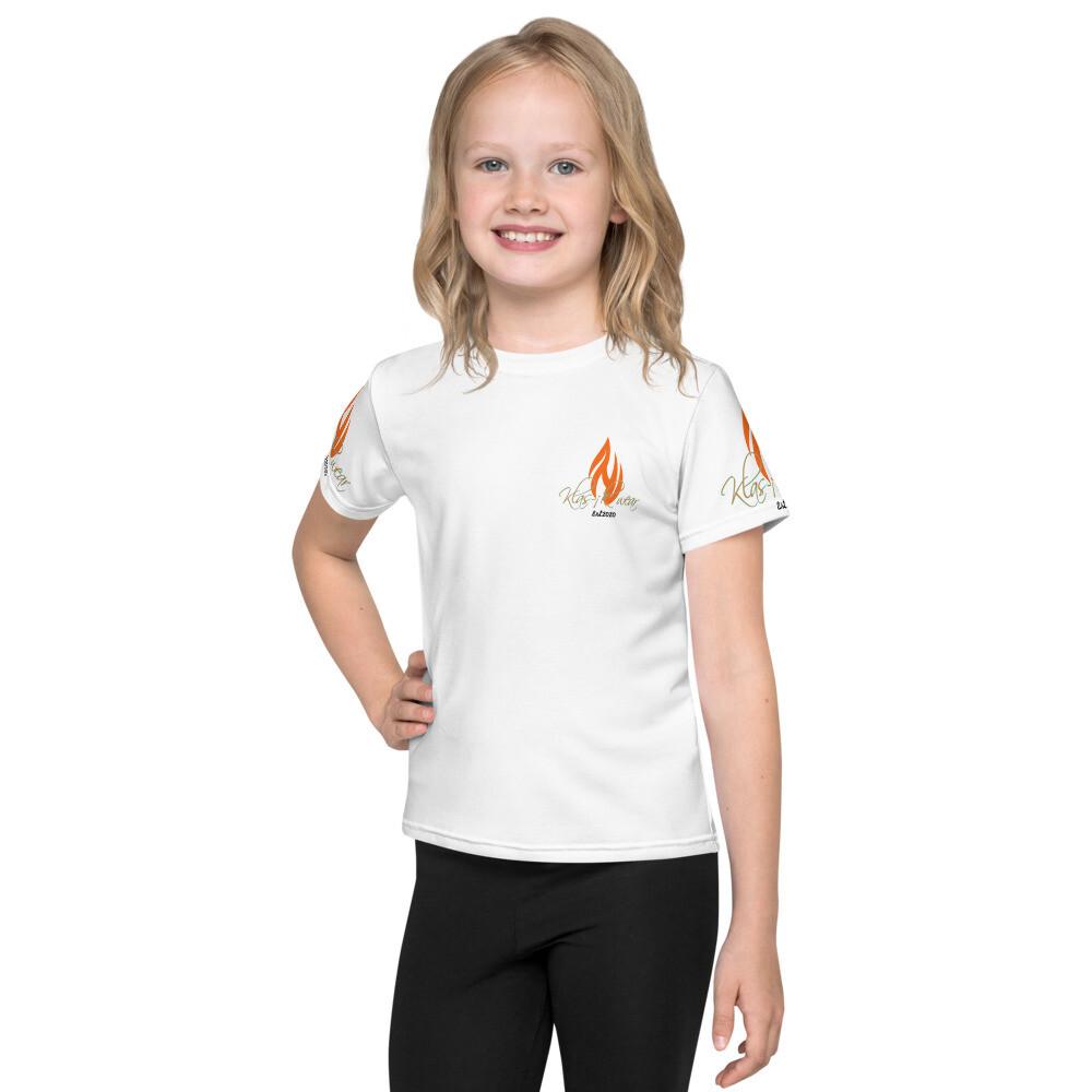Youth White Klas-ik Wear T-Shirt