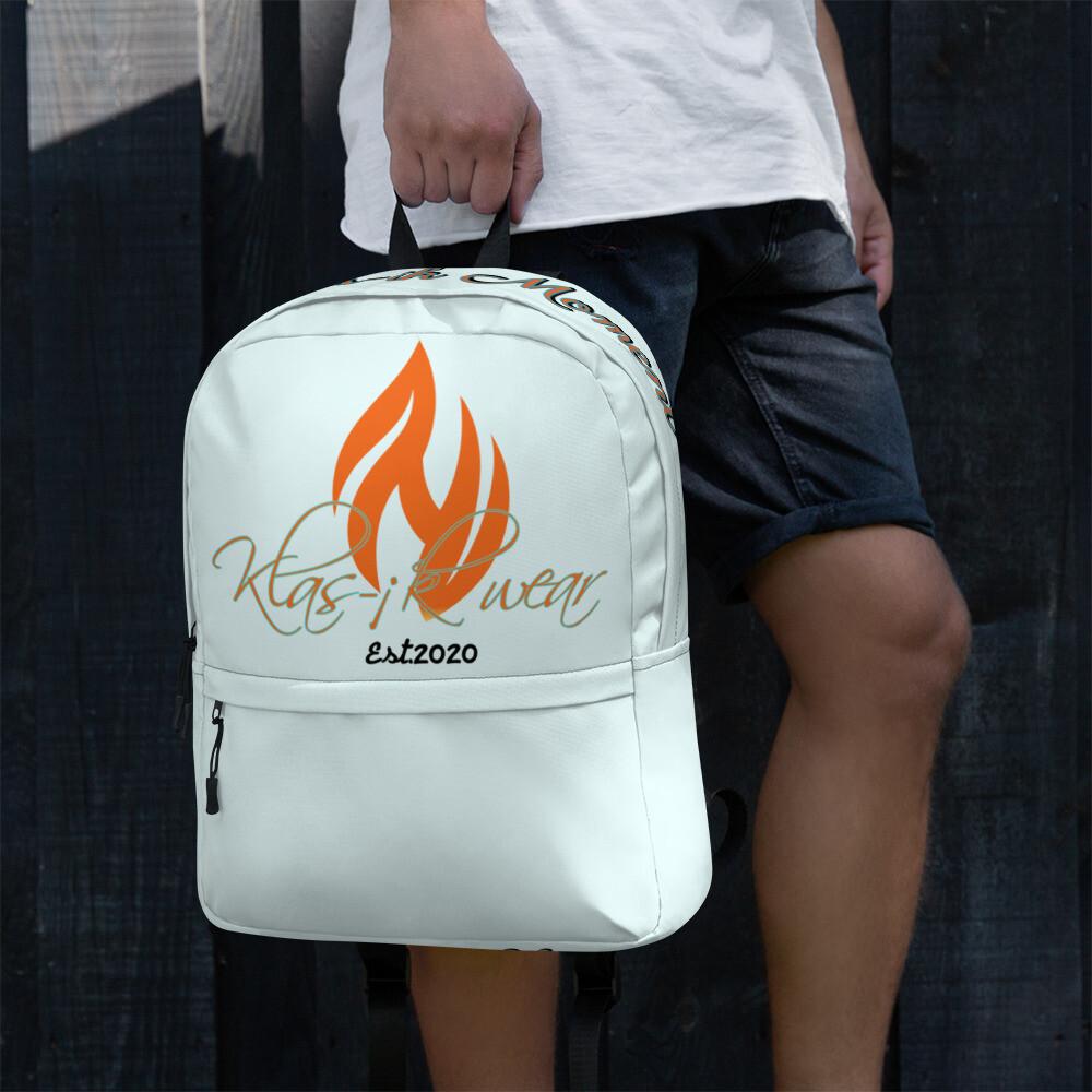 Light Blue New Flame Backpack