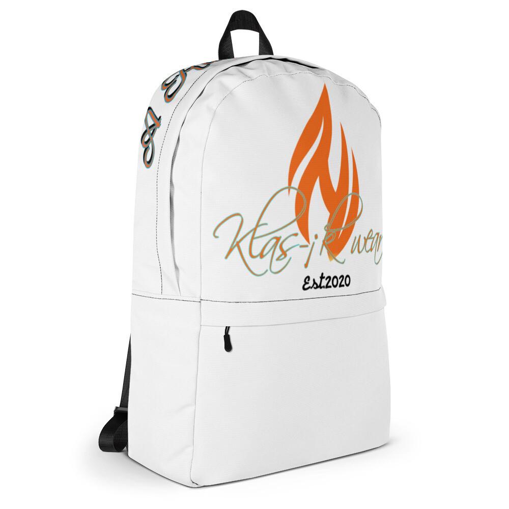 White Back Pack