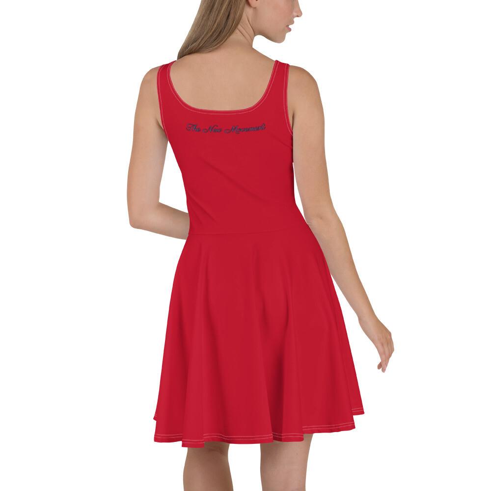 Red Queen's Skater Dress
