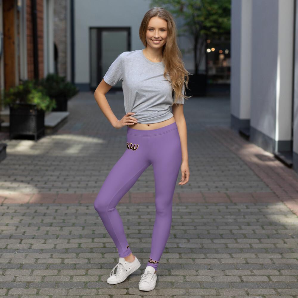 Purple KW Sports Leggings