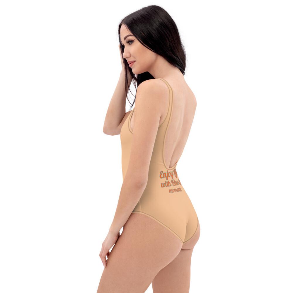 Nude One-Piece Klas-ik Wear New Flame Swimsuit