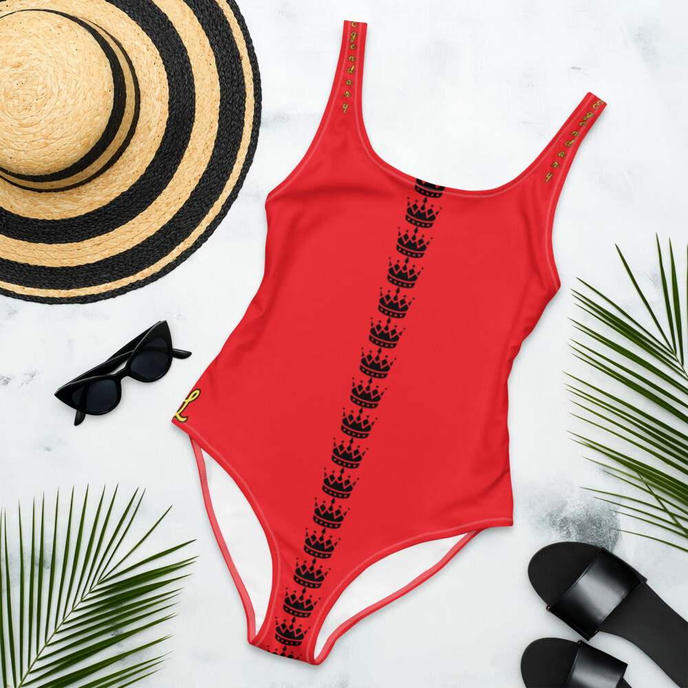 Red One-Piece Legendary Swimsuit