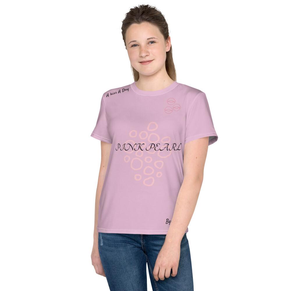 Norraye Lilac Pink Pearl Youth T-Shirt