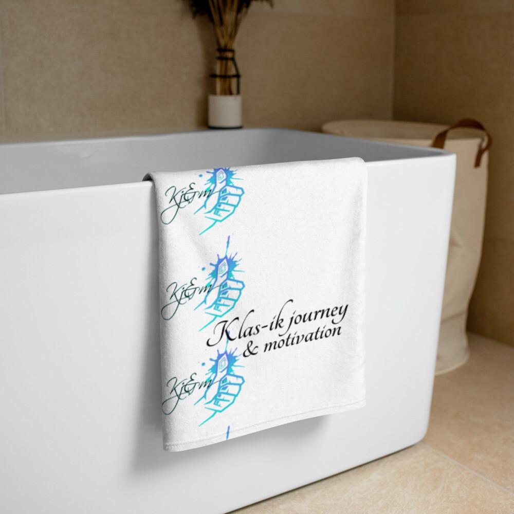 White Kj&m Big Towel