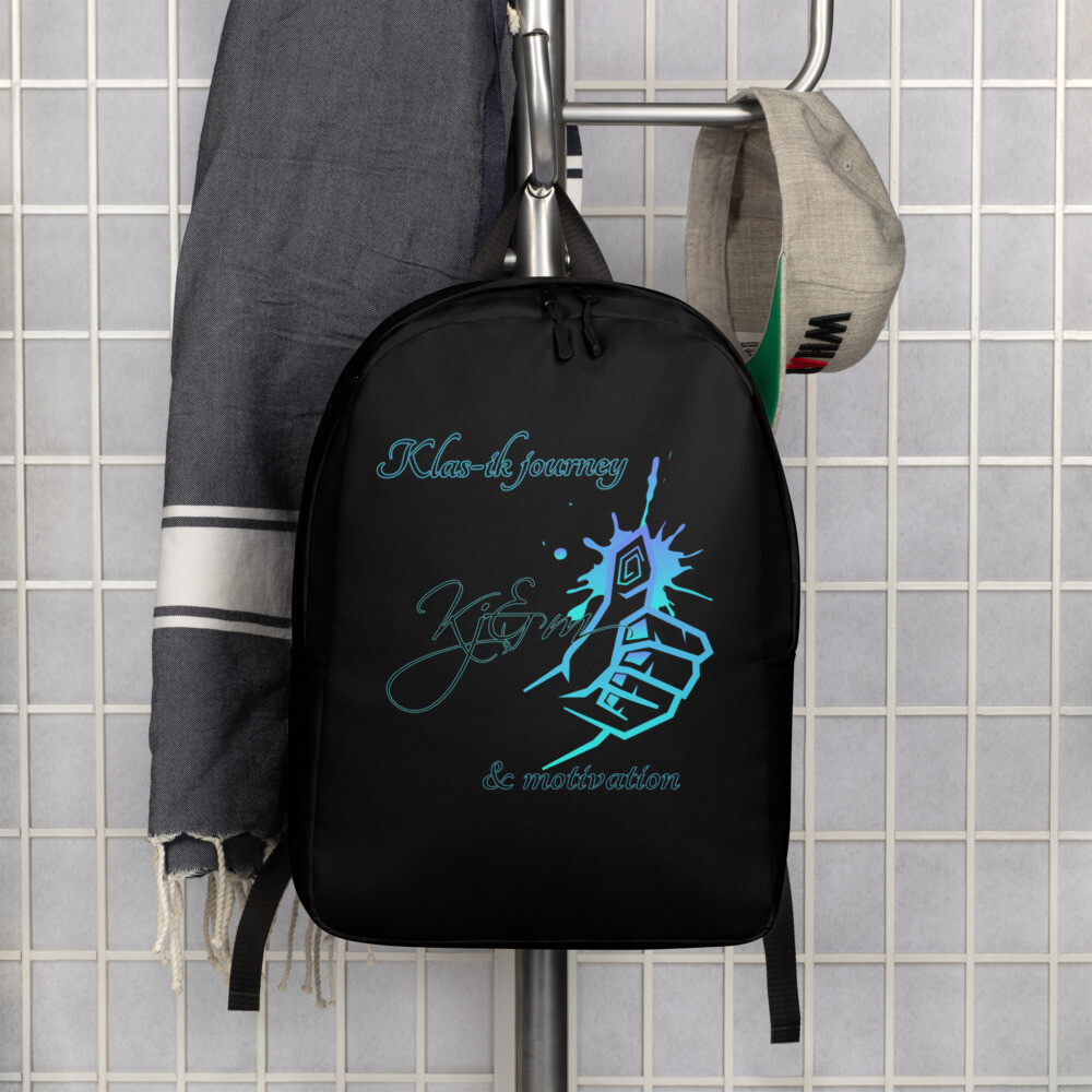 Black Kj&m Backpack