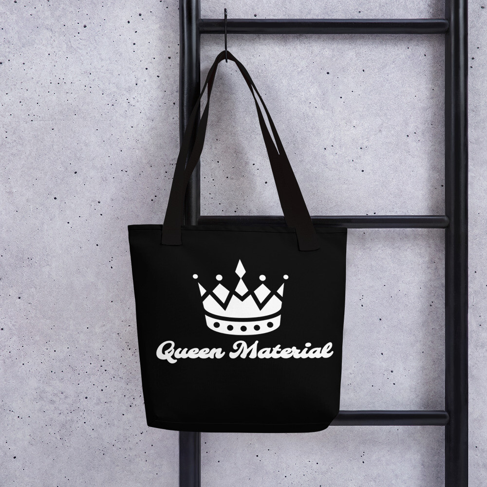 Black And White Queen All Around Tote bag