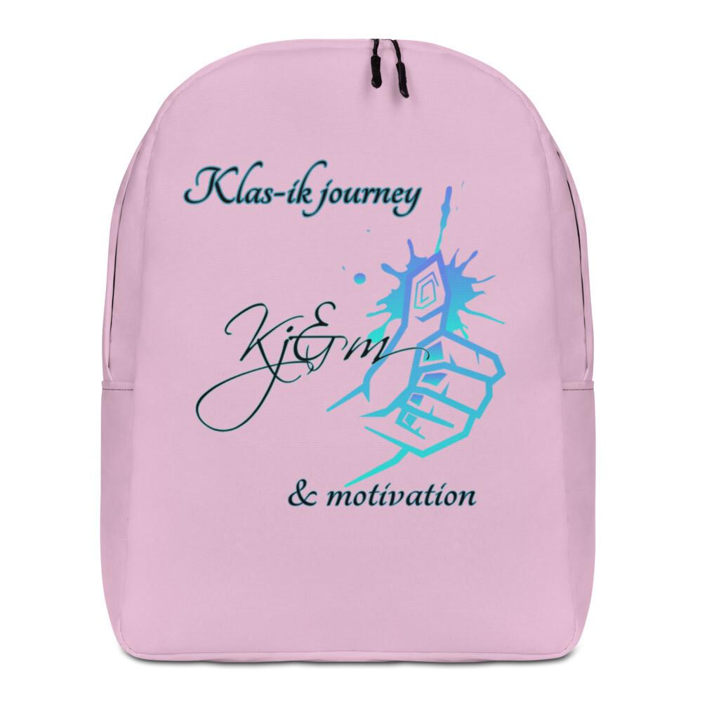 Pink Kj&m Minimalist Backpack