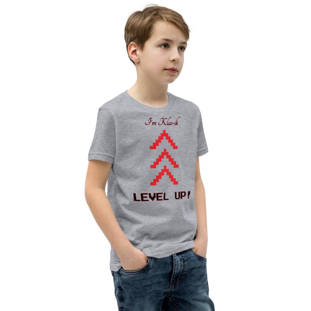 Youth Klas-ik Slogan Short Sleeve T-Shirt