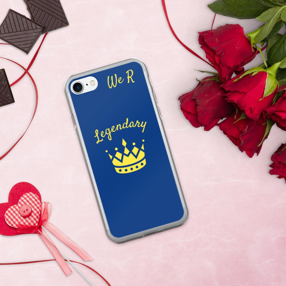 Royal Blue We R Legendary iPhone Case