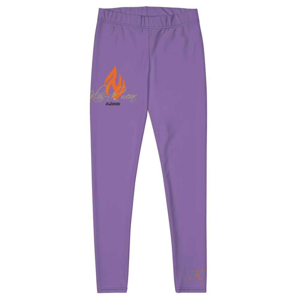 Purple New Flame Klas-ik wear Leggings