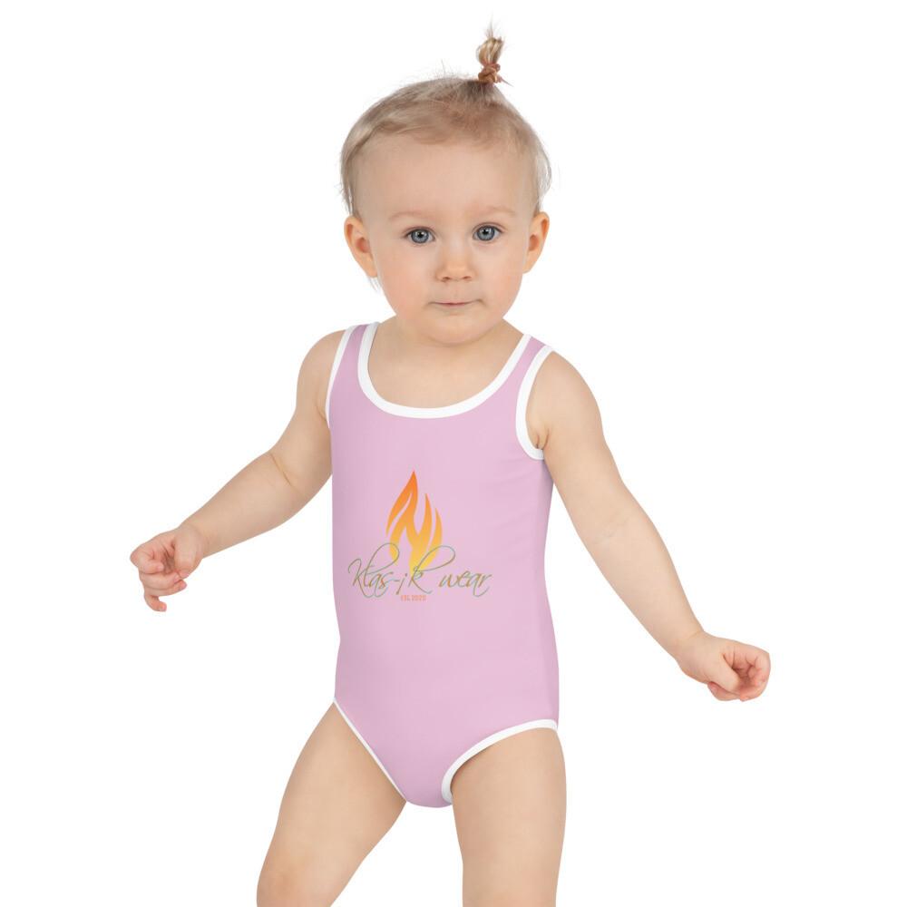 Toddler Klas-ik Wear New Flame Kids Swimsuit