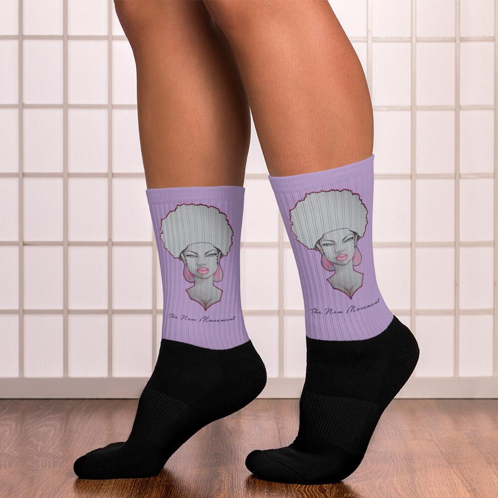 Purple Tube Queen's Socks