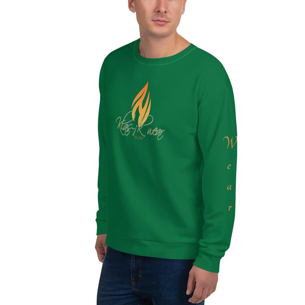 Kelly Green KW I Am Klas-ik Sweatshirt