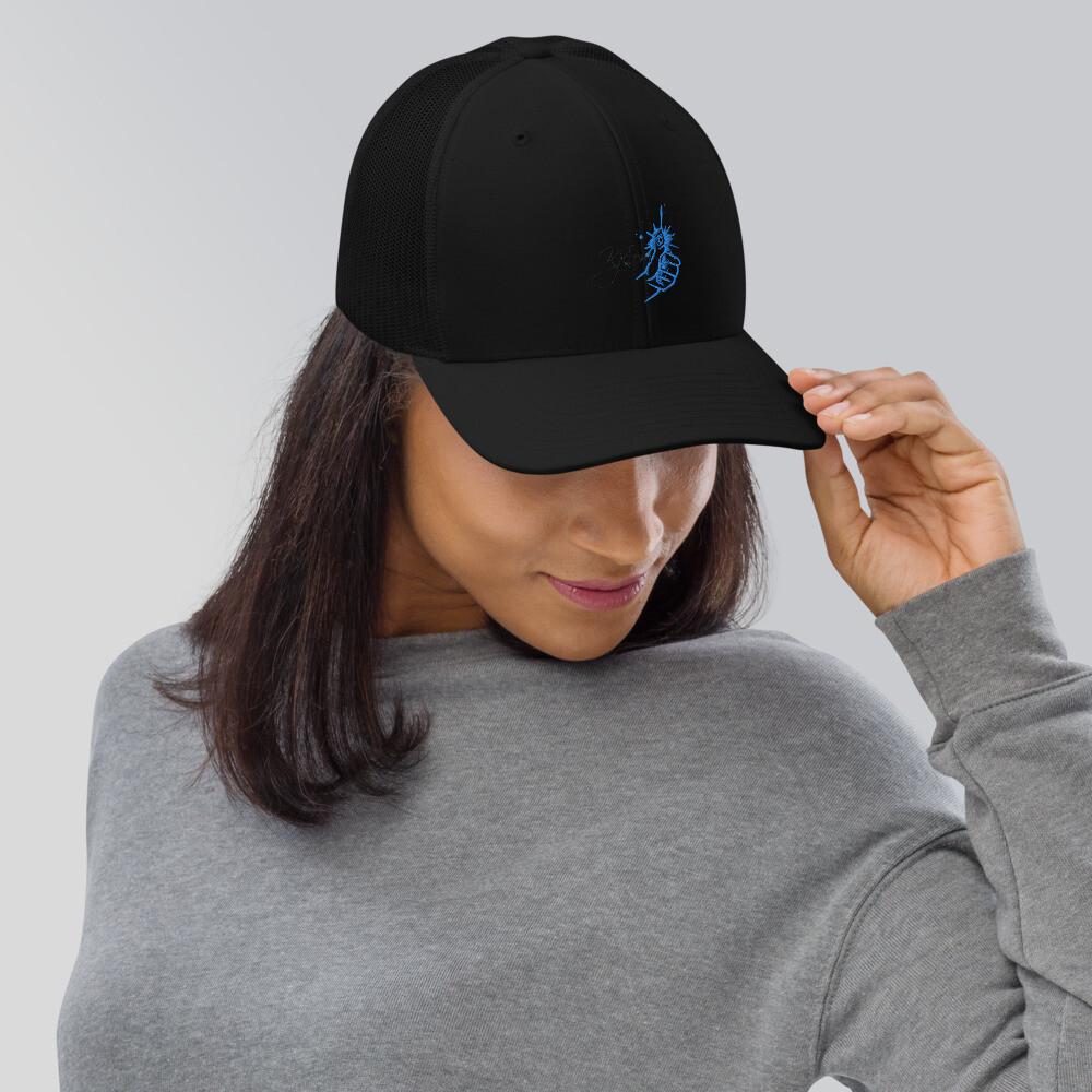Kj&m Company Brand Trucker Cap