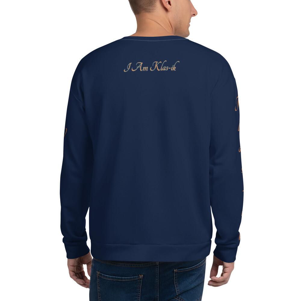 Navy Blue KW New Flame Unisex Sweatshirt
