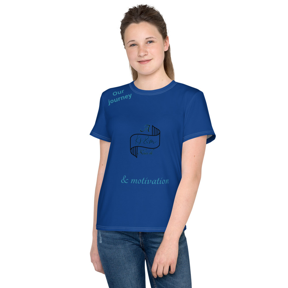 Blue Youth Kj&m Freestyle T-Shirt