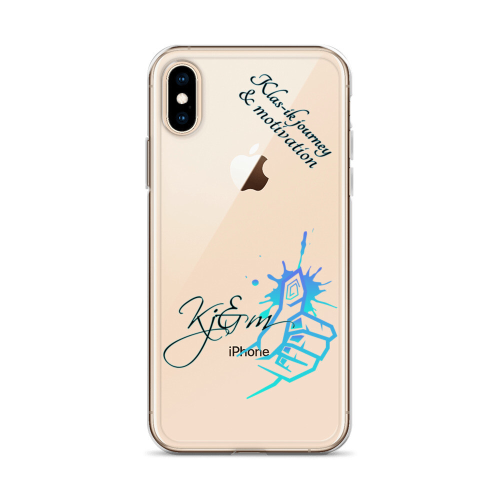 Nude Colored New Logo Kj&m iPhone Case