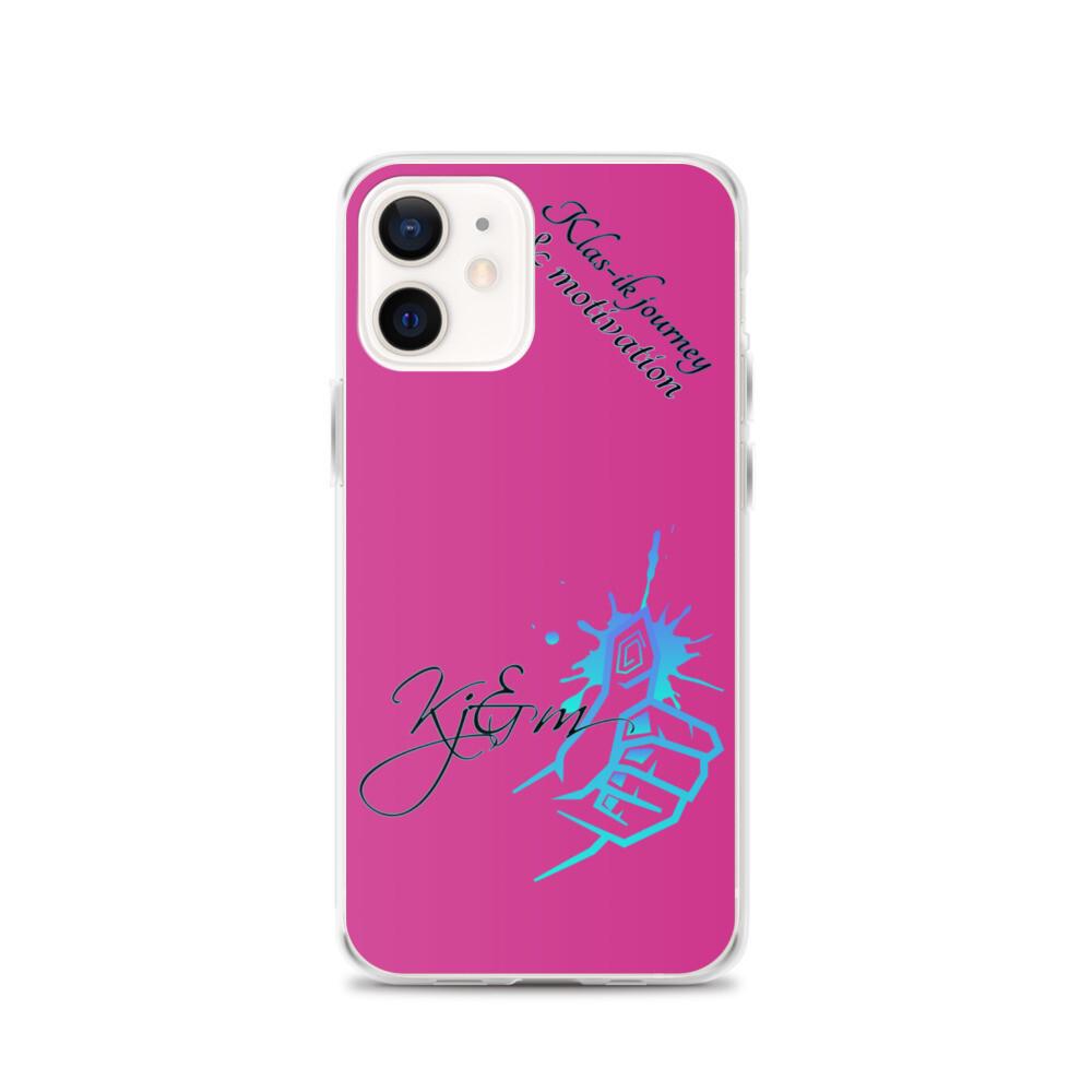 Kj&m iPhone Case