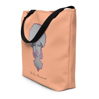 Peachy Orange Queen's Bag