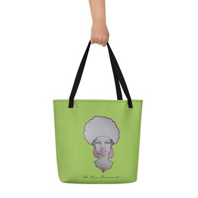 Loud Green Queen's Tote Bag
