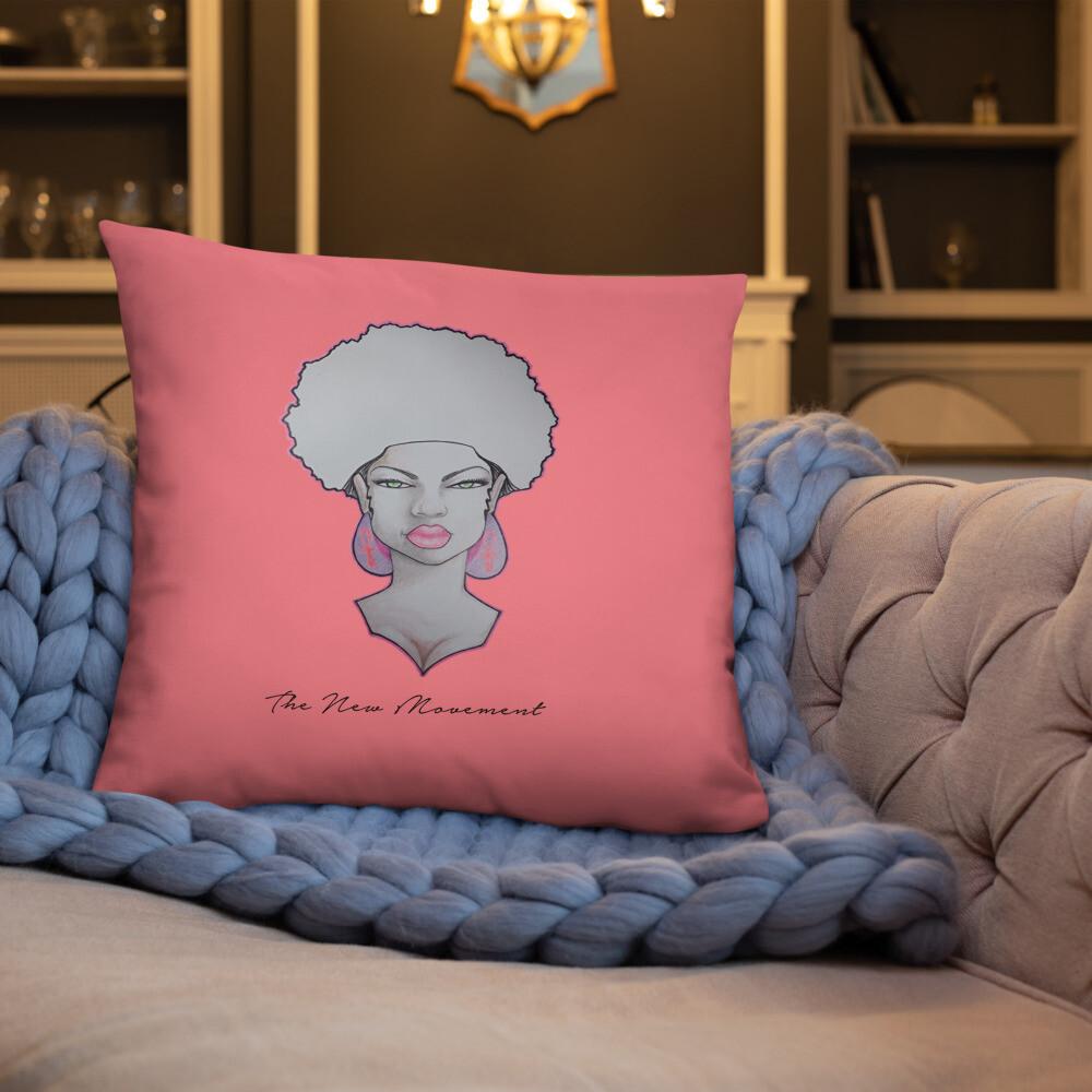 Rose Pink Decorative Pillow