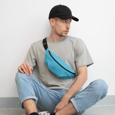 Kj&m Brand Blue Fanny Pack