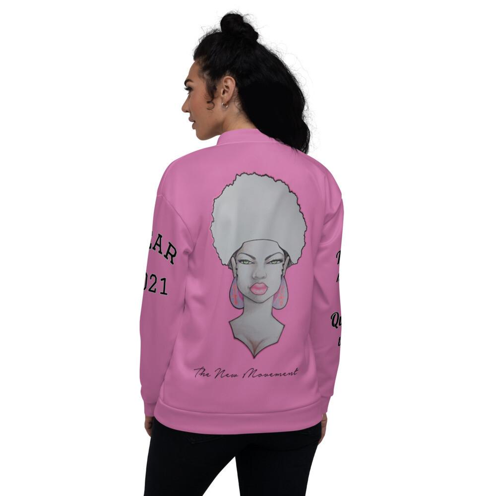 Queen Pink Bomber Jacket