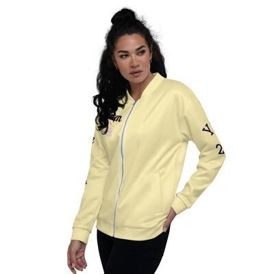 Yellow Queen Bomber Jacket