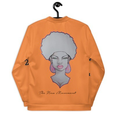 Orange Queen on the rise Bomber Jacket