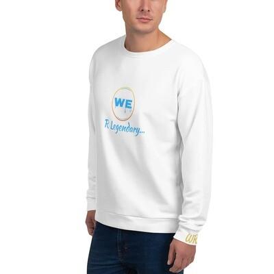 White We R Legendary Sweatshirt