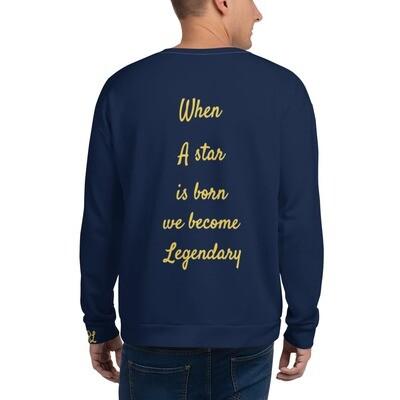 Men's Navy Legendary Sweatshirt