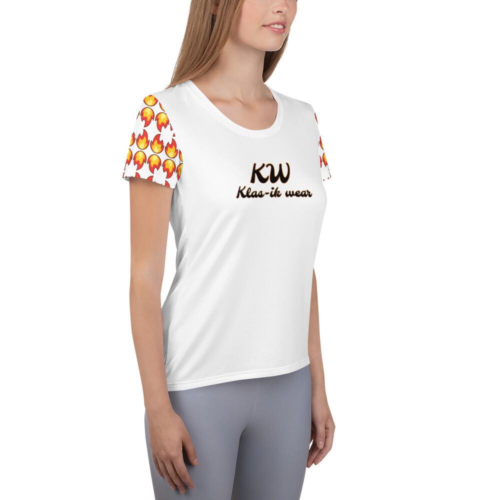 White KW Women's  T-shirt