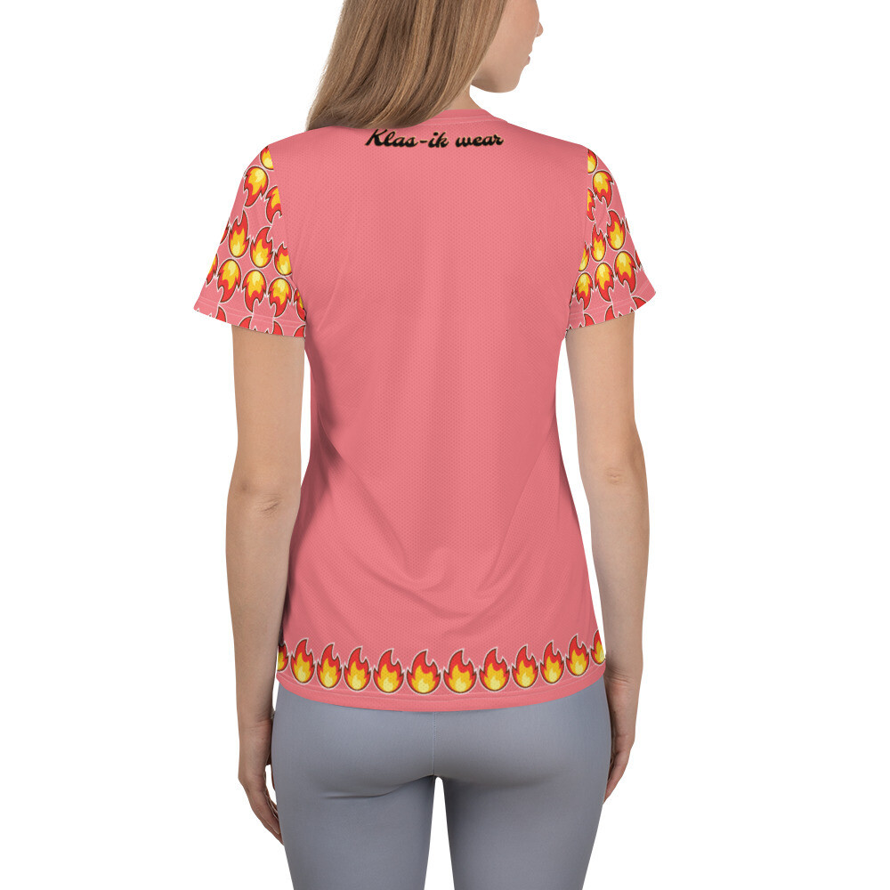 Rose Colored KW Flammable Women's T-shirt